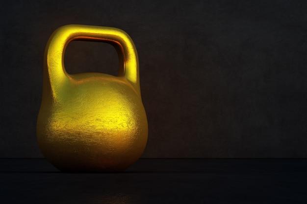 健康で豊かなコンセプトのゴールドインゴット。