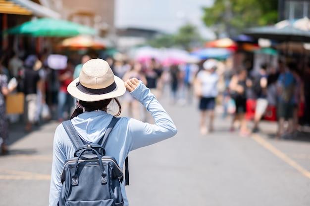 Концепция путешествия бангкок