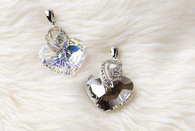 Кулон «хрустальное сердце», по-настоящему влюбленное сердце кулон «кристалл золотая тень»