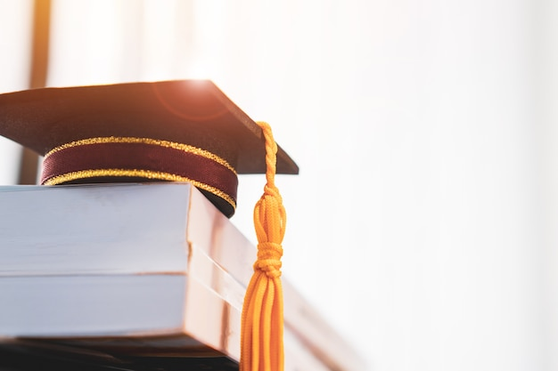 卒業または卒業大学の海外留学の国際的な概念的、