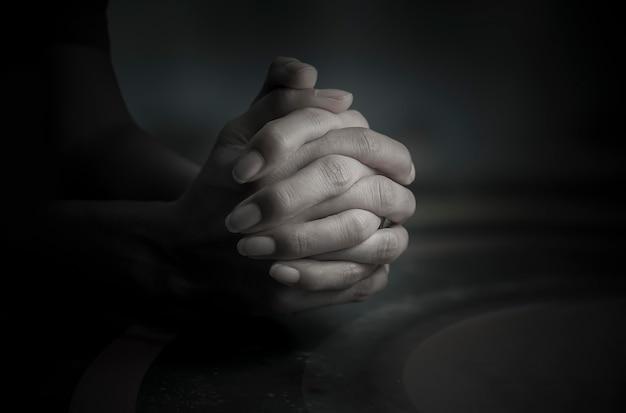 神への祈りそれが心、信仰、希望のアンカーです。
