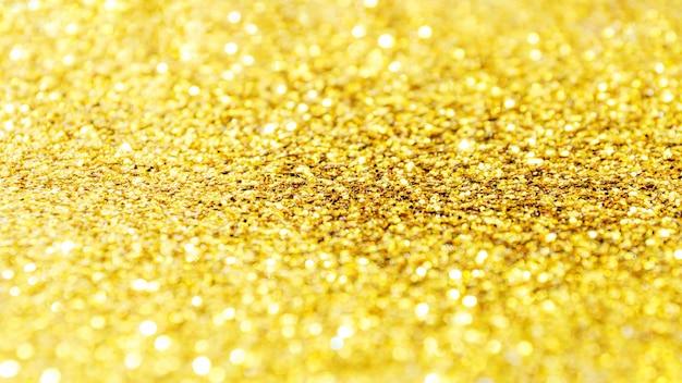 抽象的な背景のための黄金の輝き。