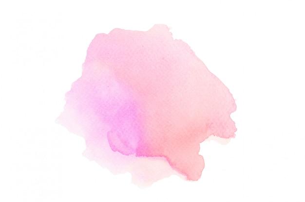 抽象的な背景のピンクの水彩画。