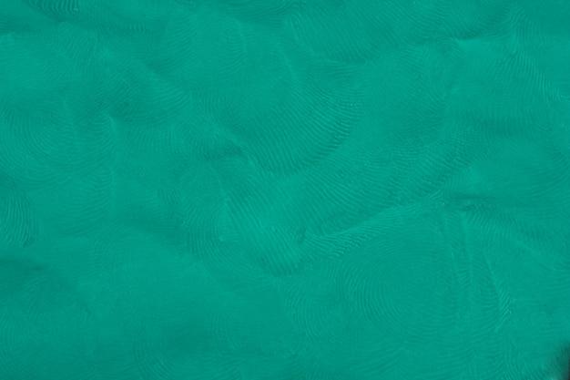 青い粘土質感のある背景