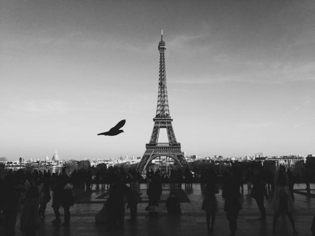 パリのシルエット