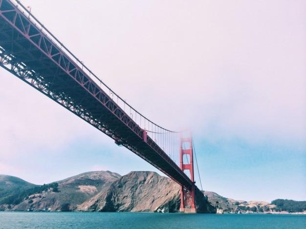 サンフランシスコ橋風景