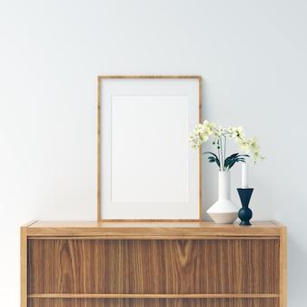 Рамочный макет с красивыми украшениями