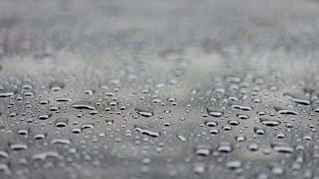 水は黒い床、選択と集中にスプラッシュを削除します。