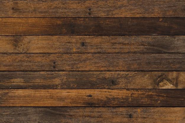 ヴィンテージの茶色の木製の背景テクスチャを閉じる