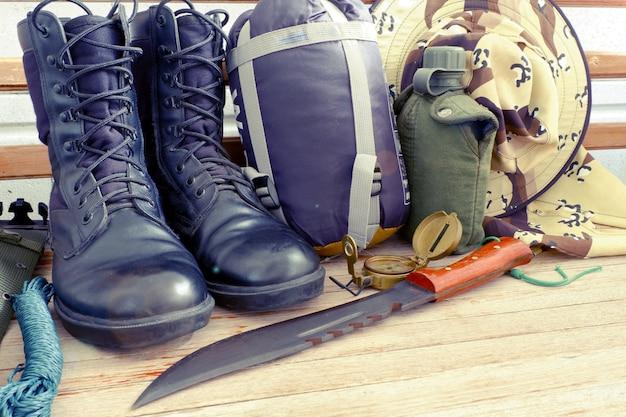 Военный комплект для паладинного кемпинга