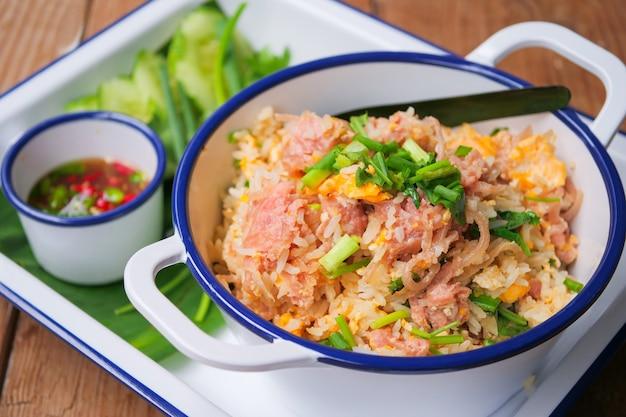 発酵豚肉チャーハン、カオパドナム