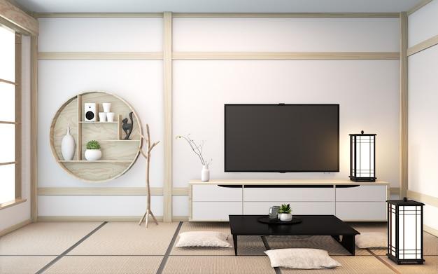 Деревянная комната в японском стиле