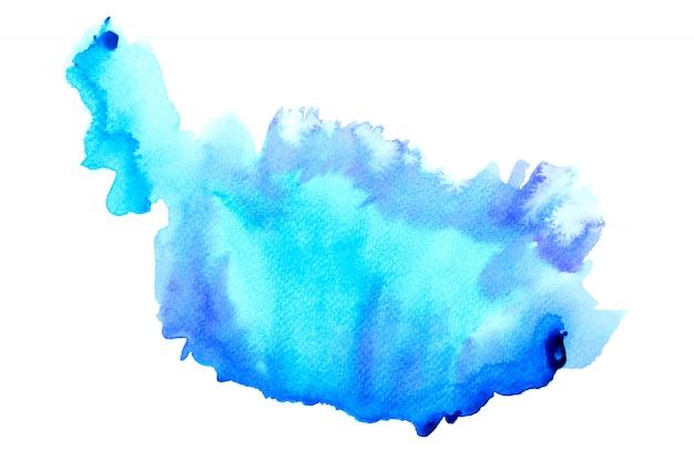 抽象的な水のカラフルな絵。パステルカラーの図の概念。