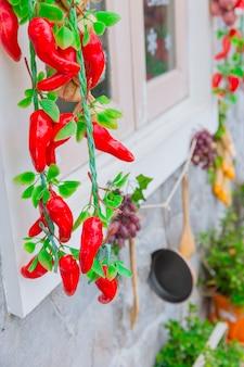 ハングチリ野菜食品保存家の装飾