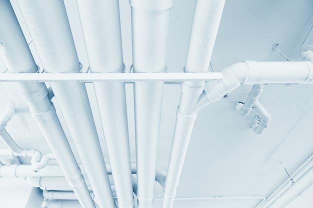 水道管工学、建物内のクリーンライン散水輸送システム