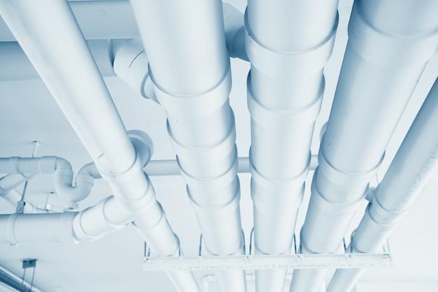 ビル内のクリーンライン給水輸送システム