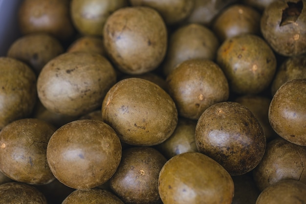 乾燥した羅漢郭癒しの自然な中国の薬草のフルーツの種子喉の痛み