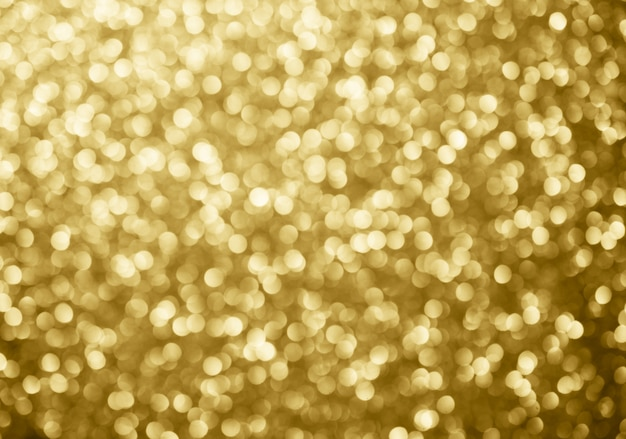 Золотой абстрактный фон боке круги