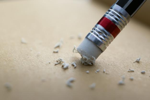 鉛筆の消しゴム