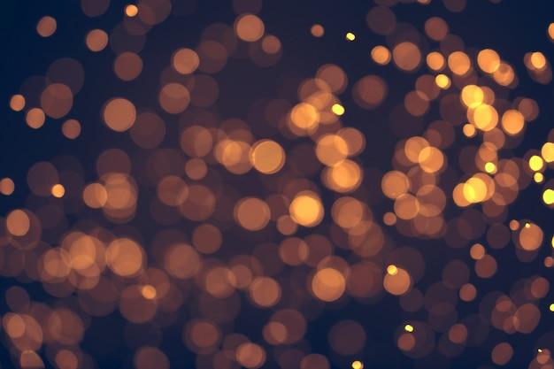 クリスマス。お祝いボケ抽象的な背景