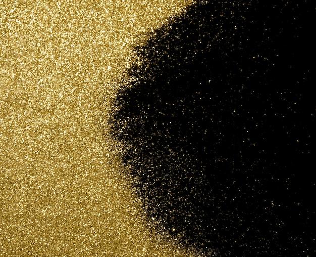 ゴールデングラステクスチャクリスマス抽象的な背景。