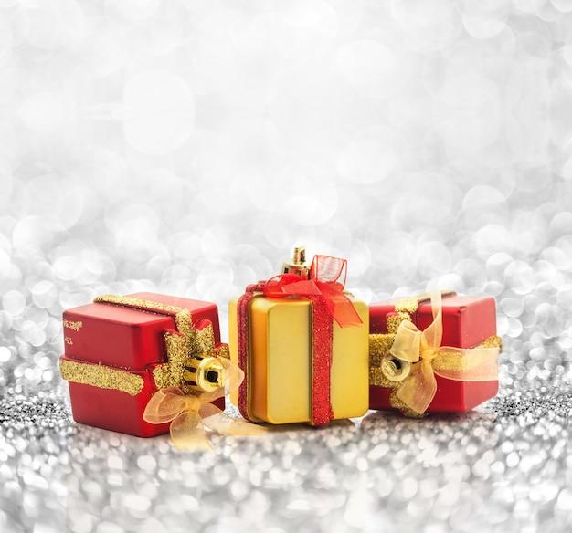 クリスマスプレゼントの背景