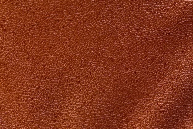背景のための抽象的な高級革の茶色の質感。
