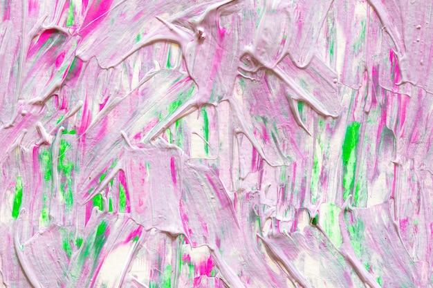 抽象的なアートの背景の手描きのアクリル絵画。カラフルな質感をブラシストローク。
