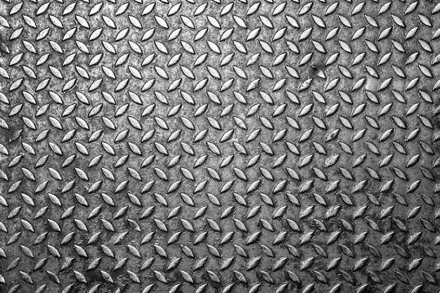 Текстура бесшовных металлических стальных листов для фона.