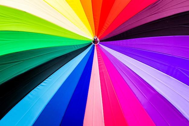 カラフルな傘の背景