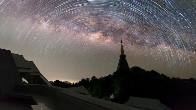 Млечный путь таиланд, галактика млечный путь