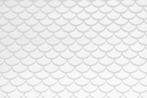 白いタイル壁の装飾背景のテクスチャ
