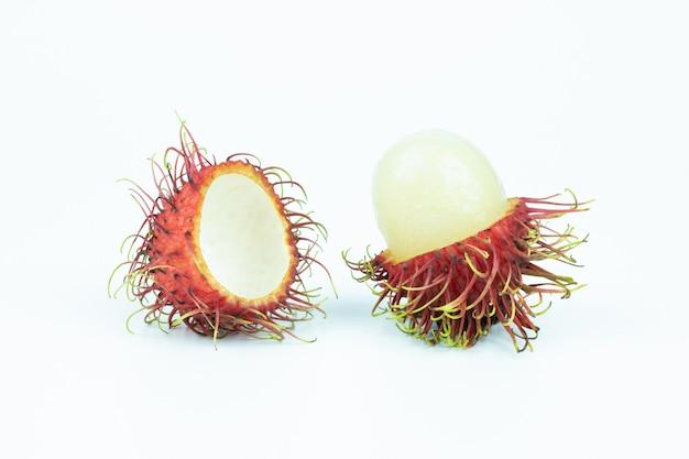 ランブータンアジアの果物の分離