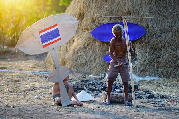 Образ жизни сельских жителей, азии,