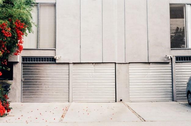 Алюминий гаражные ворота