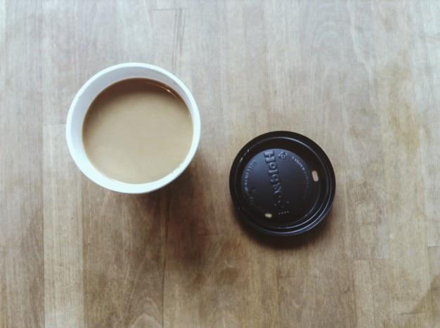 コーヒートップビュー