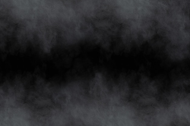 黒い背景に白い粉の爆発。