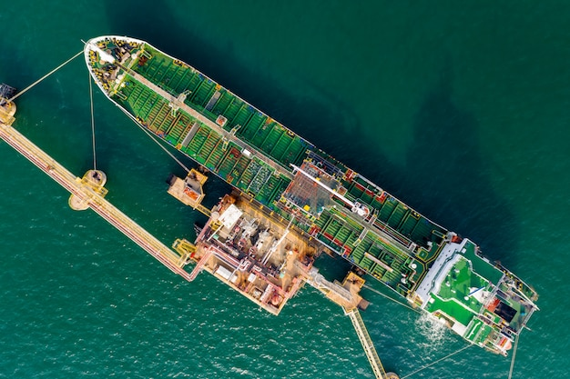 海上港での石油およびガス輸送サービスの輸入および国際輸入