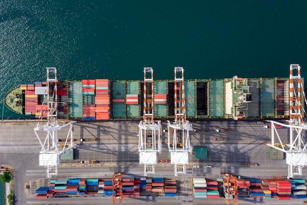 輸送コンテナのビジネス取引は、海の太平洋を開きます