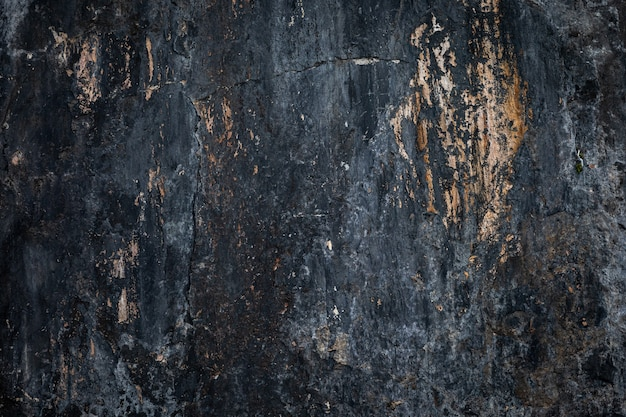 海の島の岩の崖のテクスチャの詳細