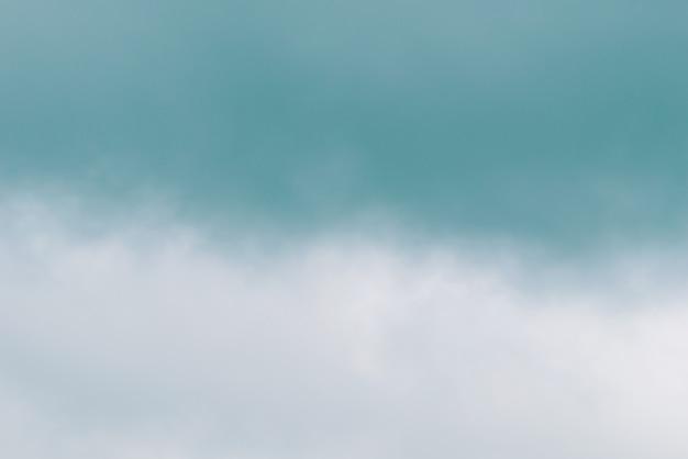 緑の霧と煙のぼやけ
