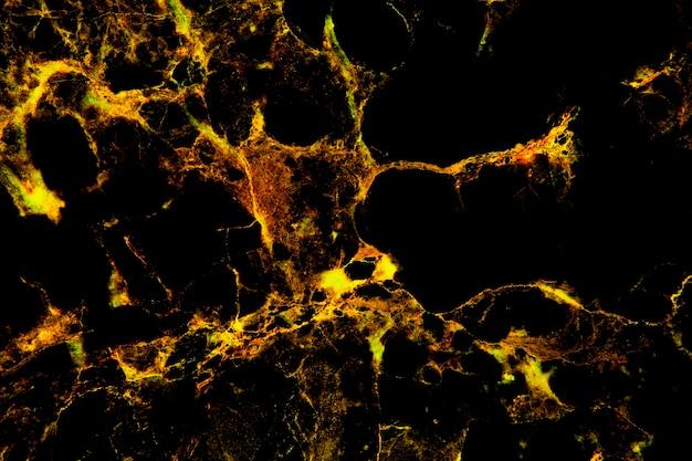 ゴールド大理石の自然なテクスチャ、暗い背景、抽象的な自然大理石の黒。ゴールドコンセプト。
