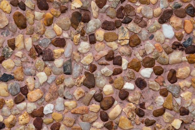 小石のテクスチャ背景。