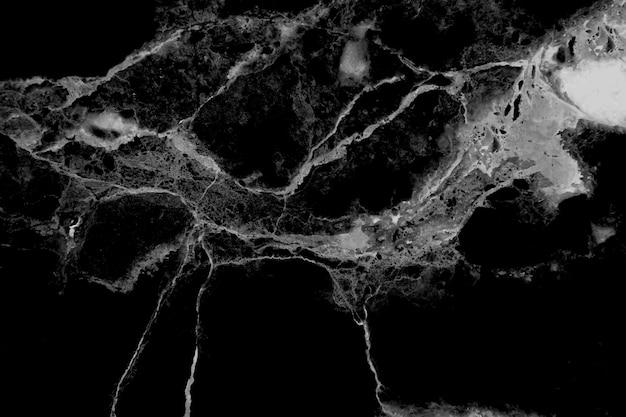 大理石模様のテクスチャ。黒と白の抽象的な大理石。