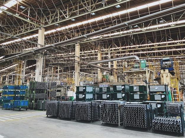 タイの自動車工場