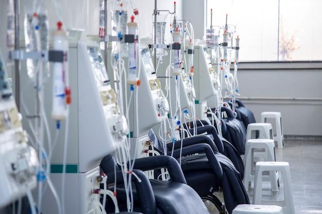 血液透析室の機器