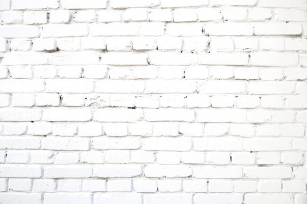 白いレンガ壁抽象的なコンクリート古いセメントグランジ背景