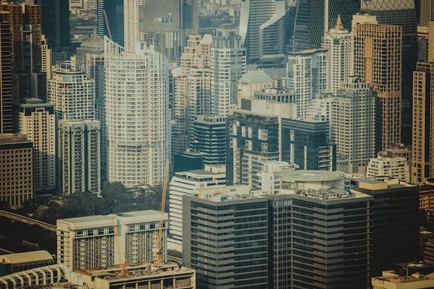 Городской пейзаж бангкока.