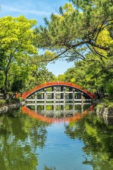 大阪府豊年堂からのドラム橋