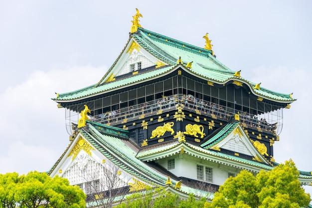 大阪城を空にして知られる姫路